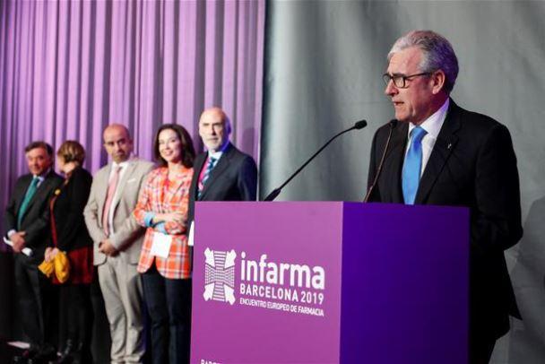 Jordi Dalmases en la inauguración de Infarma.
