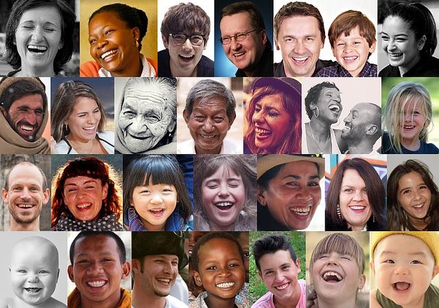 caras de personas