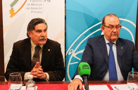 El presidente de SEMERGEN, José Luis Llisterri, y el presidente de SEMG, Antonio Fernández-Pro.