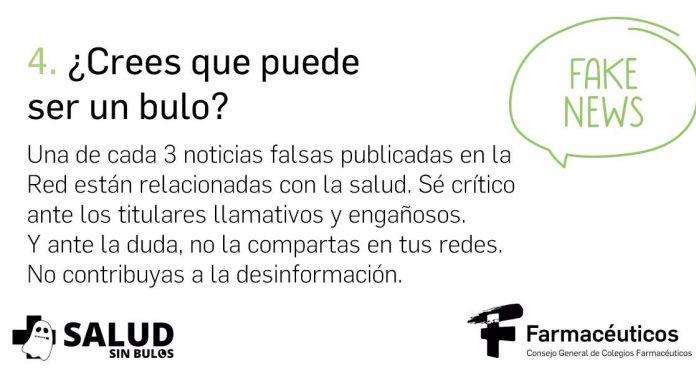 Campaña contra la desinformación sobre medicamentos en Redes Sociales.