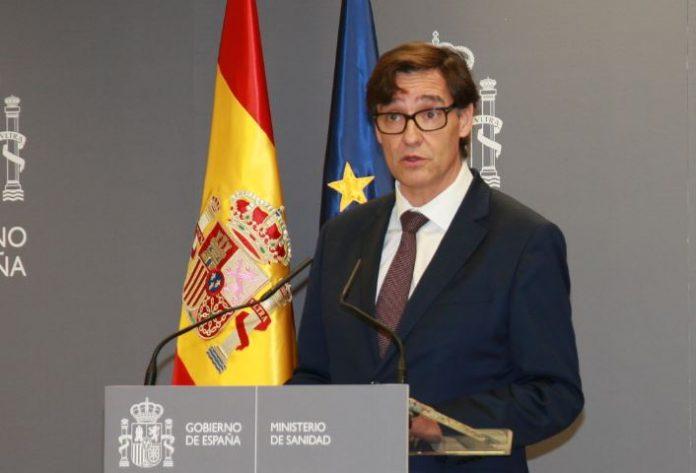 Ministro de Sanidad, Salvador Illa.