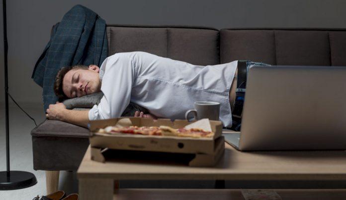 Malos hábitos a la hora de dormir.