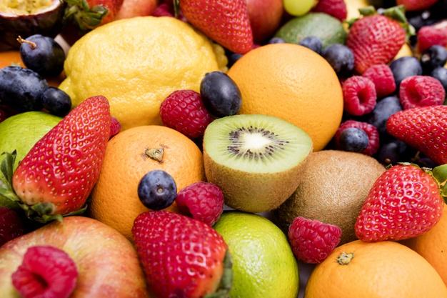 Frutos rojos.