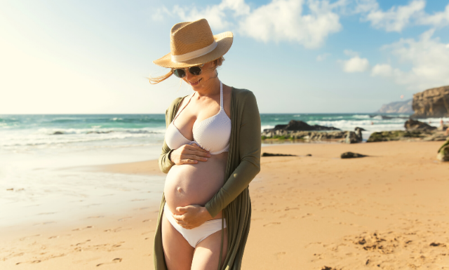 protector solar embarazo