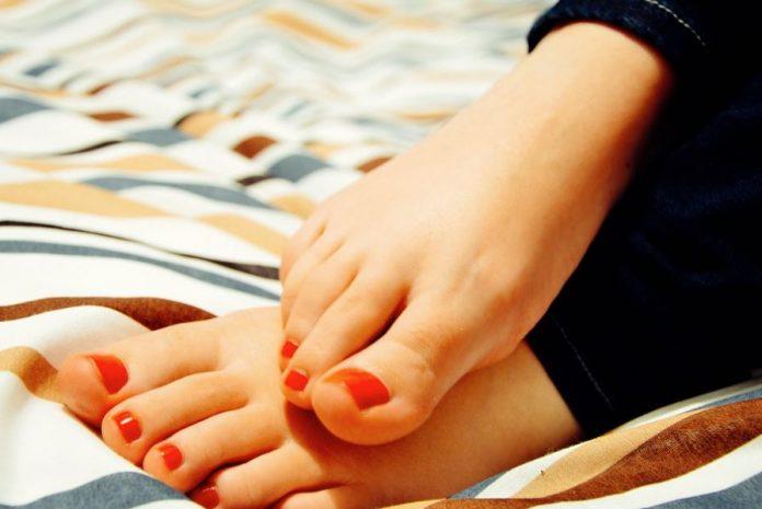 Sabañones en los pies