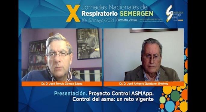 Aplicación control asma